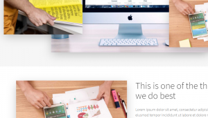 Wordpress Theme OnePage express
