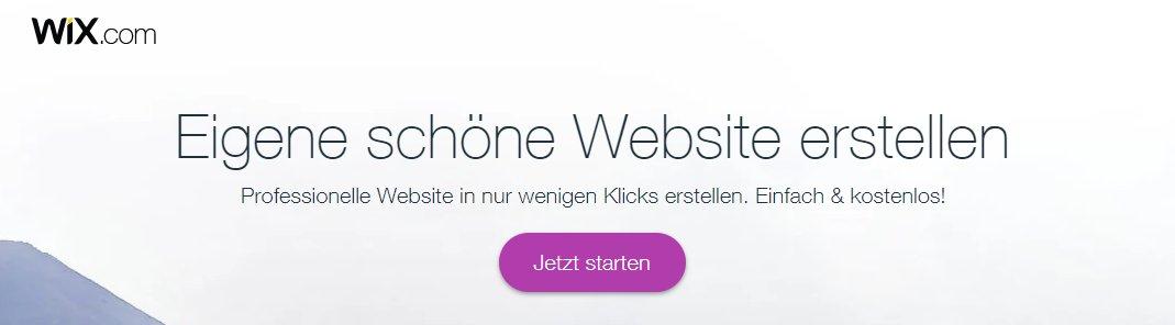 Homepage-Baukästen Anbieter Wix ist allseits beliebt