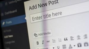 Backend von WordPress